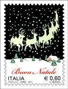 Italian Christmas Stamp 2011