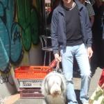 Dino and me at market